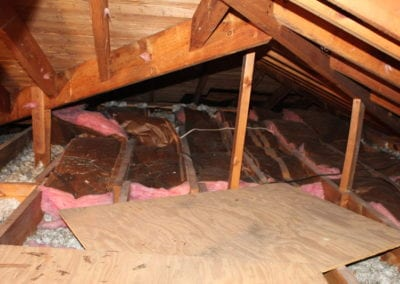 home that needs insulation